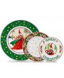Christmas Magic Plates